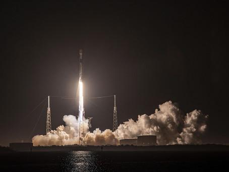 SpaceX lanza 60 nuevos satélites Starlink a órbita.