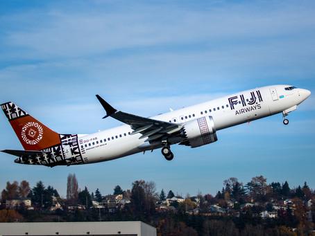Fiji Airways confirma el retorno al servicio de los aviones Boeing 737 MAX tras aprobación regulator