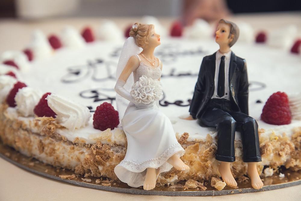 Νύφη, Γαμπρος και Γαμήλια τούρτα
