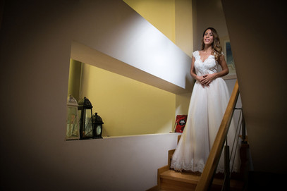 Bride is ready