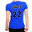 Thumbnail: Customized Carolina Courts Volleyball Ladies T-Shirt - with player name & number