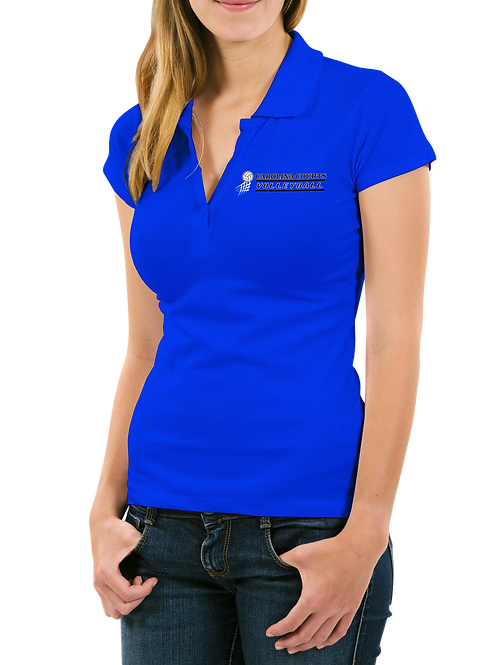 Carolina Courts Volleyball Sports Polo