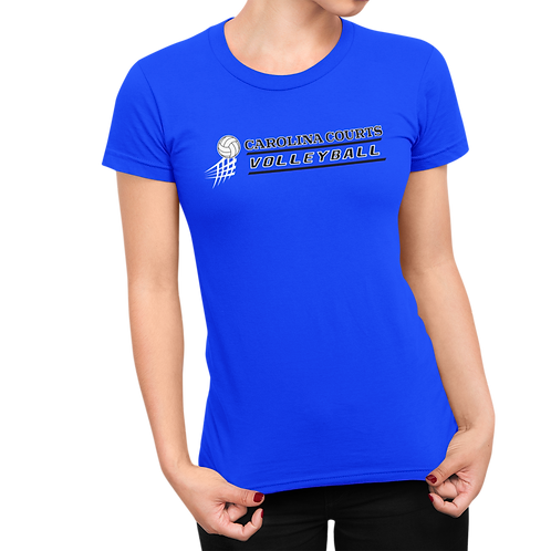 Carolina Courts Volleyball Ladies T-Shirt