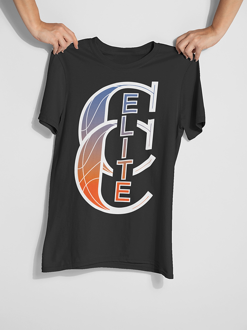 Customized CC Elite 100% Cotton T-Shirt with Player Name and Number