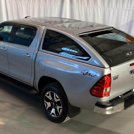 Tough-Fox®️ Turkey launches Toyota Hilux Revo Canopy in Pakistan
