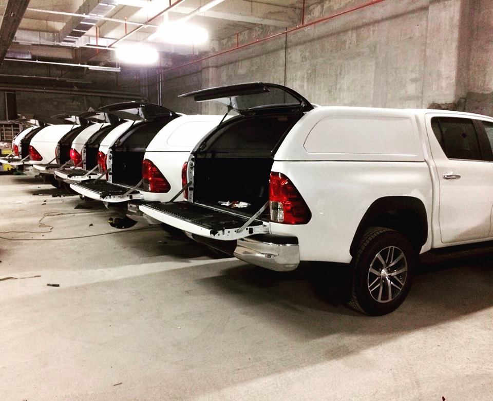 Canopy Carryboy Toyota Hilux Revo Tough-