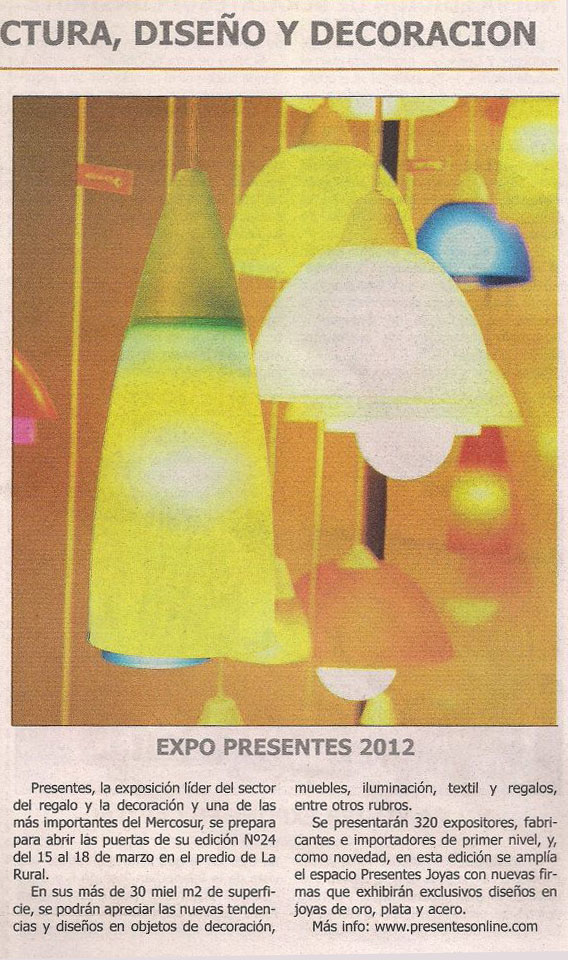 Expo Presentes 2012