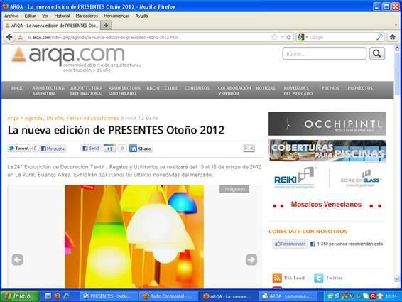 La nueva edición de PRESENTES 2012