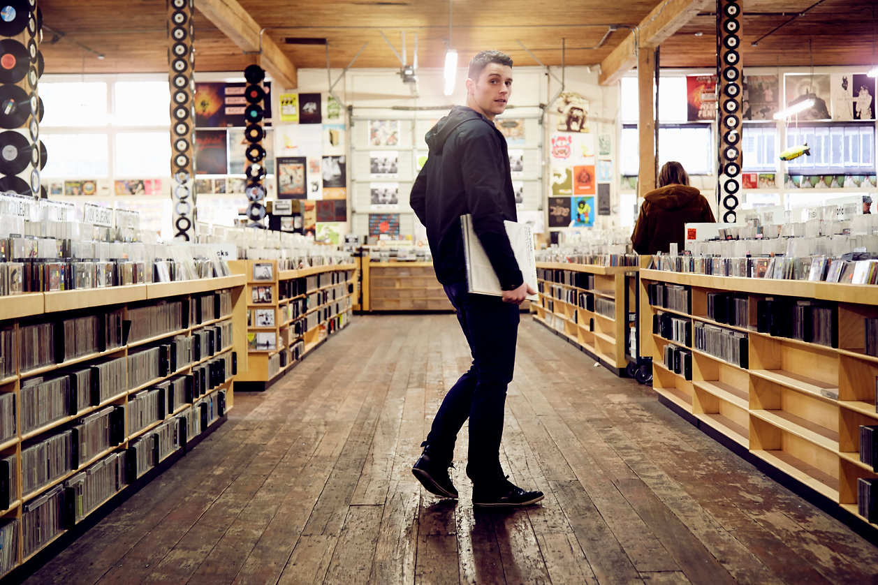 In the Record Store