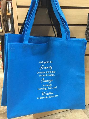 """Serenity Prayer"" Bag"