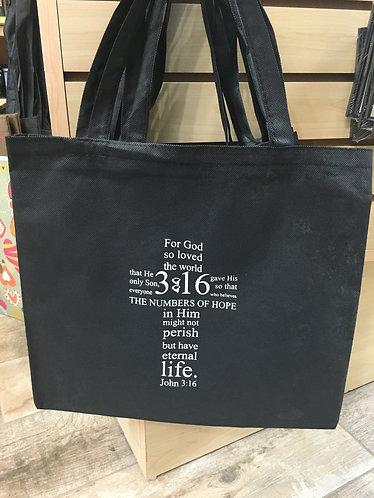 """John 3:16 """"Scripture"""" Bag"""