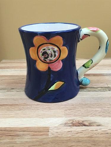 12 oz. Flower & Butterfly Mugs