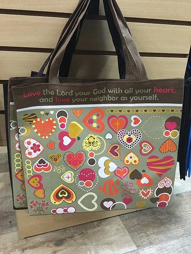 """Decorative """"Love Commandment"""" Bag"""