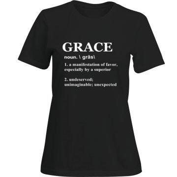 """Signature """"Grace Definition"""" Shirts"""