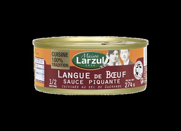 LANGUE DE BŒUF SAUCE PIQUANTE - 274g
