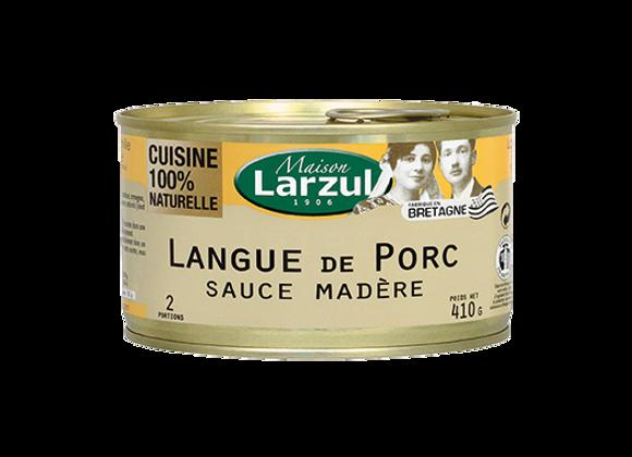 LANGUE DE PORC SAUCE MADÈRE - 410g
