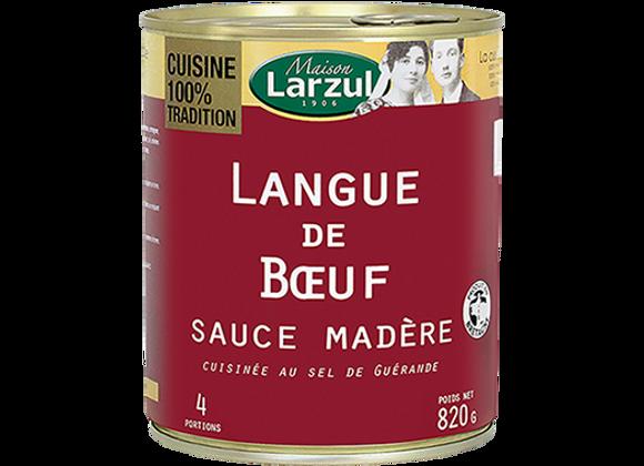 LANGUE DE BŒUF SAUCE MADÈRE - 820g