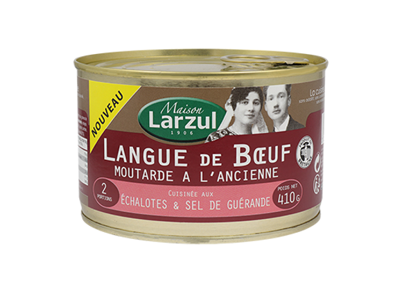 LANGUE DE BŒUF MOUTARDE A L'ANCIENNE - 410g