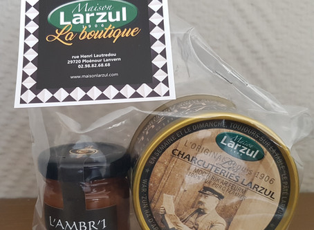 Pourquoi pas un mini-coffret Maison Larzul pour accueillir vos estivants ?