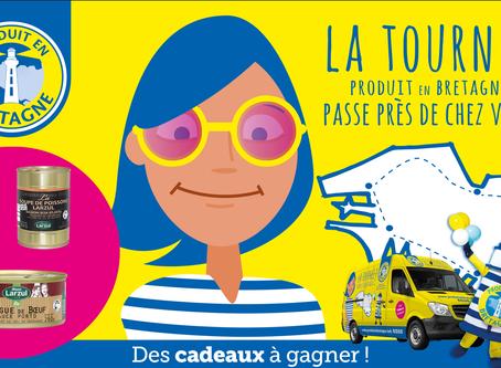 Tentez de gagner des produits Maison Larzul sur la tournée estivale Produit en Bretagne