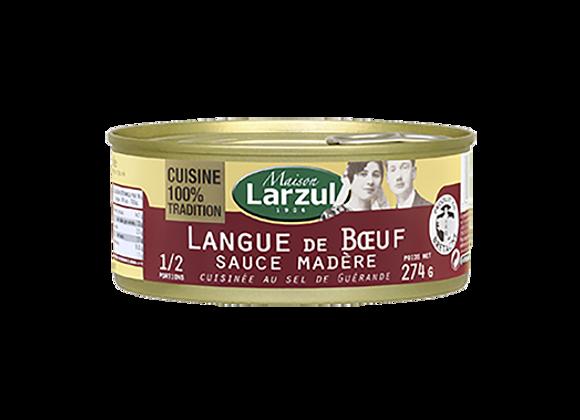 LANGUE DE BŒUF SAUCE MADÈRE - 274g