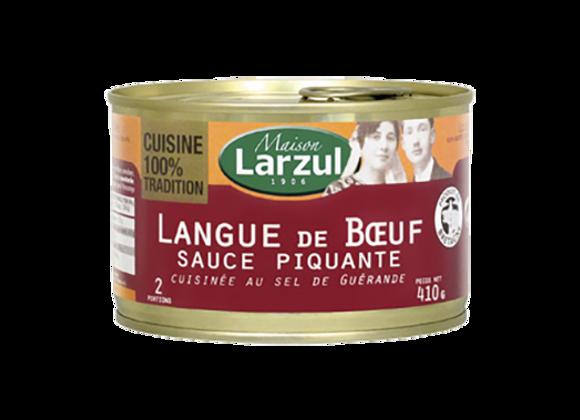 LANGUE DE BŒUF SAUCE PIQUANTE - 410g