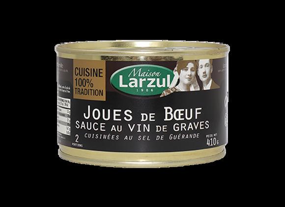 JOUES DE BŒUF SAUCE VIN DE GRAVES - 410g