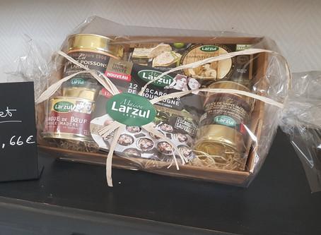 Retrouvez le meilleur de la cuisine naturelle et traditionnelle Larzul dans un coffret cadeau !