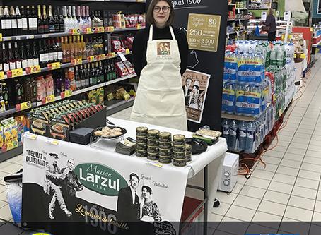 Maison Larzul, la cuisine naturelle et traditionnelle, fête les 60 ans de Carrefour!