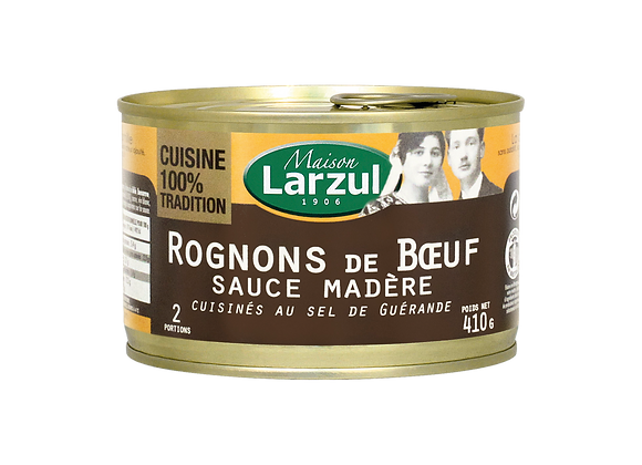 ROGNONS DE BŒUF SAUCE MADÈRE - 410g