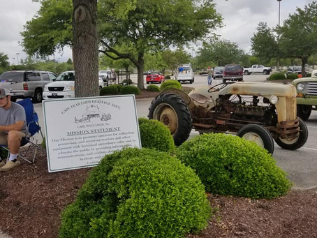 Cape Fear Farm Heritage Association represents at the All Ford and Truck Show