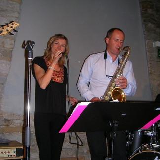 Duo mit Sax