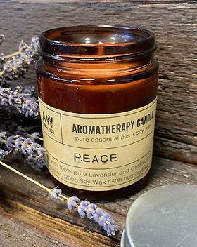 Aromatherapy candle Peace.jpeg