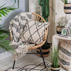 Scandi Boho Stripe Blanket Throw 3.jpg