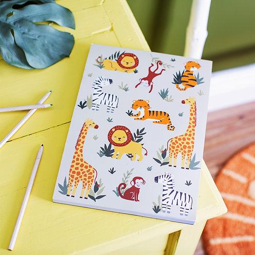 Safari animals sketchpad