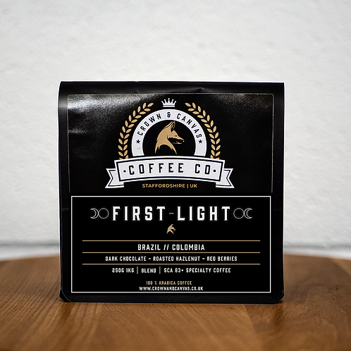 Coffee: First light blend