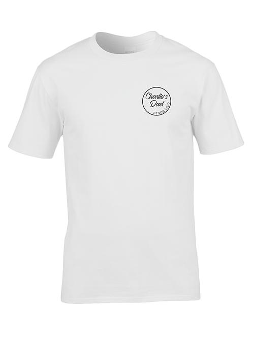 Personalised dad t-shirt: white