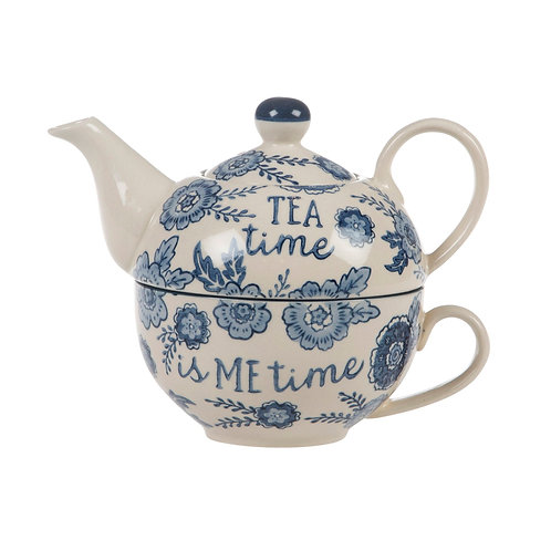 Me time teapot & cup in one