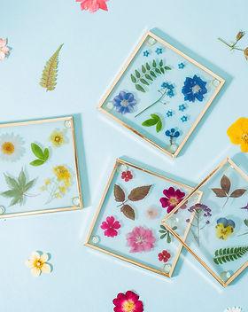 Pressed Flowers Glass Coasters.jpg
