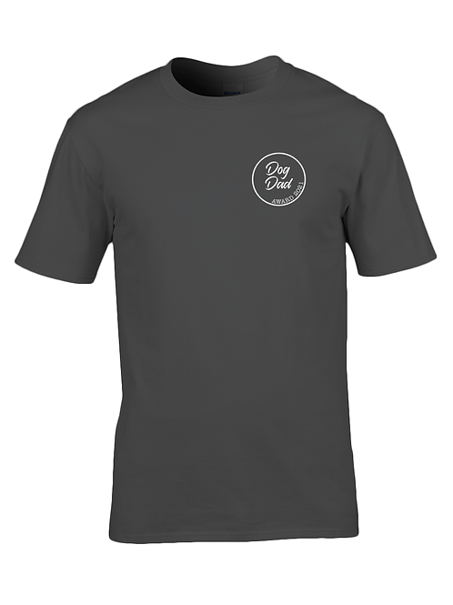 Dog dad award t-shirt: Black