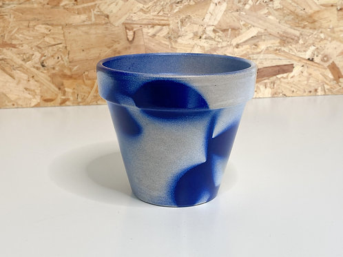Painted plant pot small
