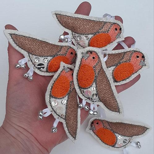 Little linen birds