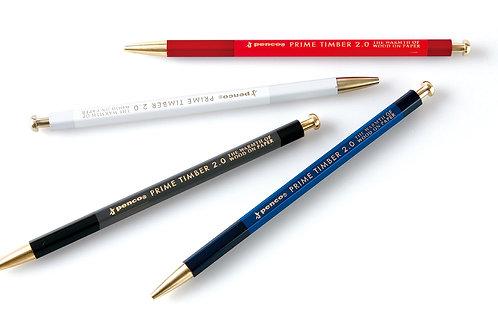 Prime timber & brass mechanical pencil