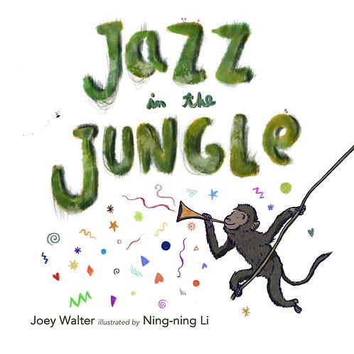 Jazz in the Jungle children's book