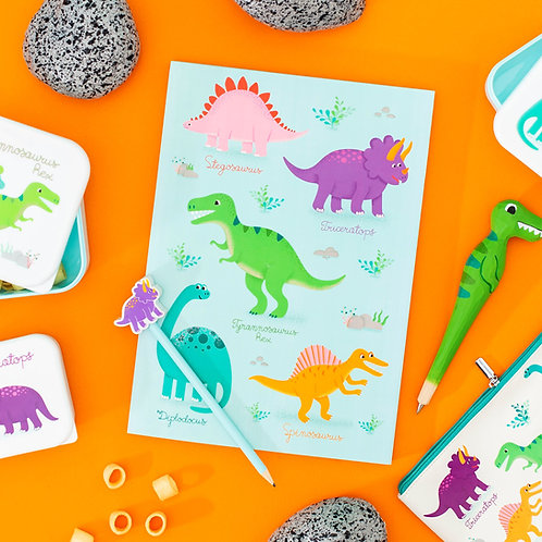 Dinosaur sketchpad