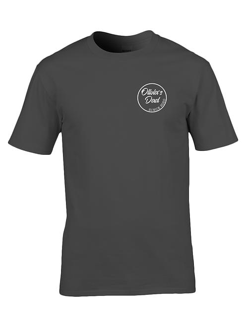 Personalised dad t-shirt: black