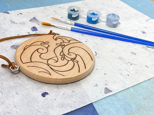 Seascape painting DIY kit