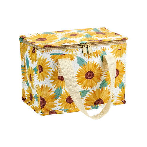 Sunflower lunch bag