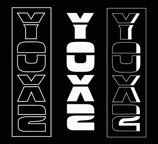 Yox2 apparel alternate logo type