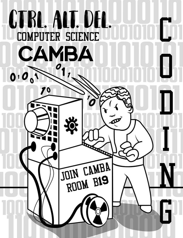 Camba coding flyer